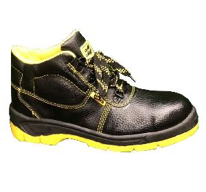 Meddo Duos Steel Toe Black Safety Shoes Size 8