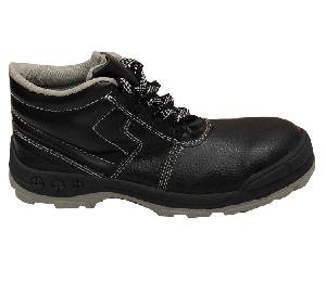 Meddo Rover Steel Toe Black Safety Shoes Size 6