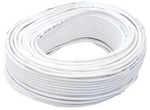 3+1 Cores White Cctv Cable 90 Meter Pack