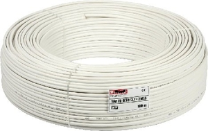 Cp Plus Cooper 90 M White Cctv Cable