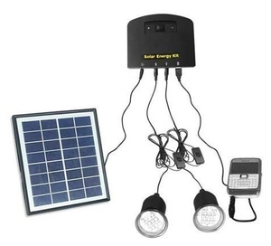 Tracksun 5w 12v Dc Solar Home Lighting System