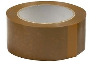 "Brown Packing Tape 2"" ( Pack Of 6 Pcs)"