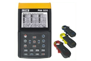 Meco Pha 5850a (Input Current : 1-100amp) True Rms Power And Harmonics Analyser