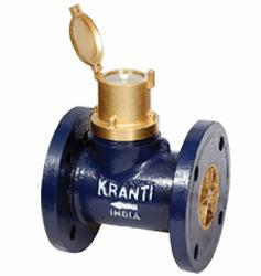 Kranti 40 Mm Cold Water Flow Meter Flanged End Class A