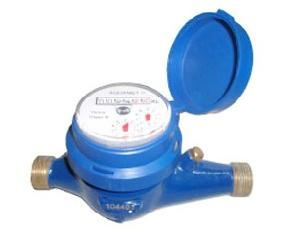 Aquamet Multijet 40mm Cold Water Flow Meter Screwed End Class B