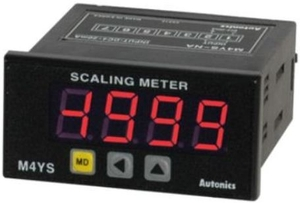 Autonics Scaling Meter (4 Digit Led) Loop Powered Type M4ys-Na Input 4~20ma