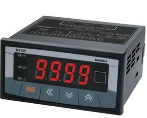 Autonics Multi Panel Meter Mt4w-Dv-4n Dc Voltage Indicator Only
