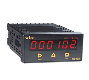 Selec Rate Indicator / Totaliser Rc 102c (24v) 6 Digit Counter / Totaliser (4digit Auto Ranging Rate