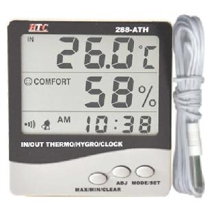Htc 288ath Thermo Hygrometer (Temp Range -50°C To 70°C)