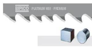 Bipico M51 Platinum 34x1.10 Mm Bimetal Band Saw Blades 3760 Mm 3/4 Tpi
