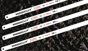 Magicut (400 X 25 X 1.25 Mm, 10 Teeth Per Inch Tpi)  Power Hacksaw Blade - (Bimetal 8% Co Material)