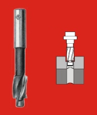 Indian Tools Counter Bore With Integral Pilot (Cutter Dia 9.50 Mm, Pilot Dia 4.20 Mm)