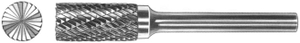 Yg1 Sb-7m Double Cut Cylindrical End Cut Burr (Head Dia 19mm, Head Length 25mm)