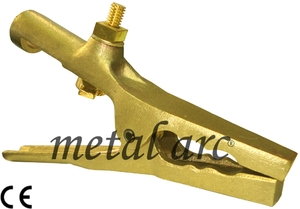 Metal Arc Brass Earth Clamp Ue3b4 (400 Amps)