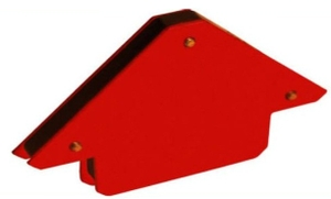 Metal Arc Magnetic Position Holder  Steel Red Powder Coated Mph3