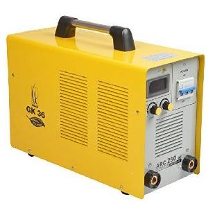 Gk 36 250a Inverter Arc Welding Machine With Cable Connectors Arc 250 Iii Phase