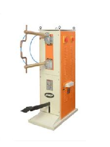Hmp Heavy Duty Pedestal Type Spot Welding Machine With Timer 2 Phase 20 Kwa